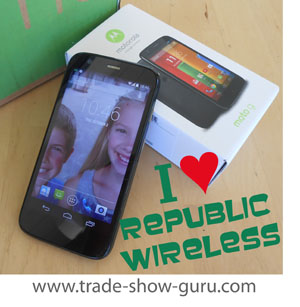 save money and be happy with a Republic Wireless Moto G smart phone